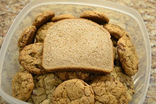 galletas y pan