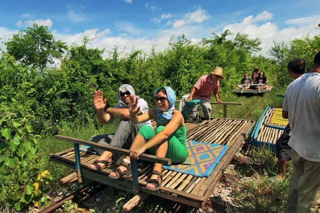 18- Tren de Bambu