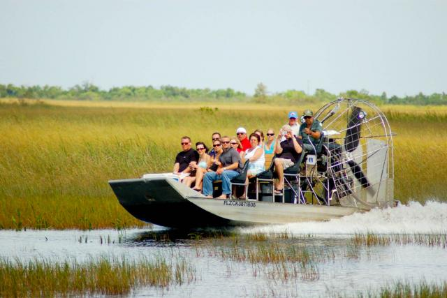 22- Airboat