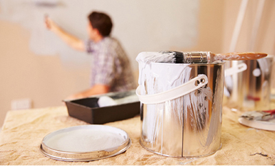 Pintando habitacion