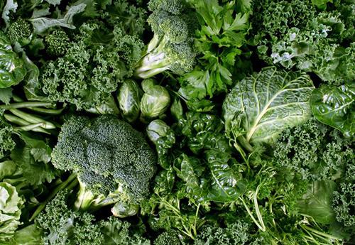 espinacas y vegetales